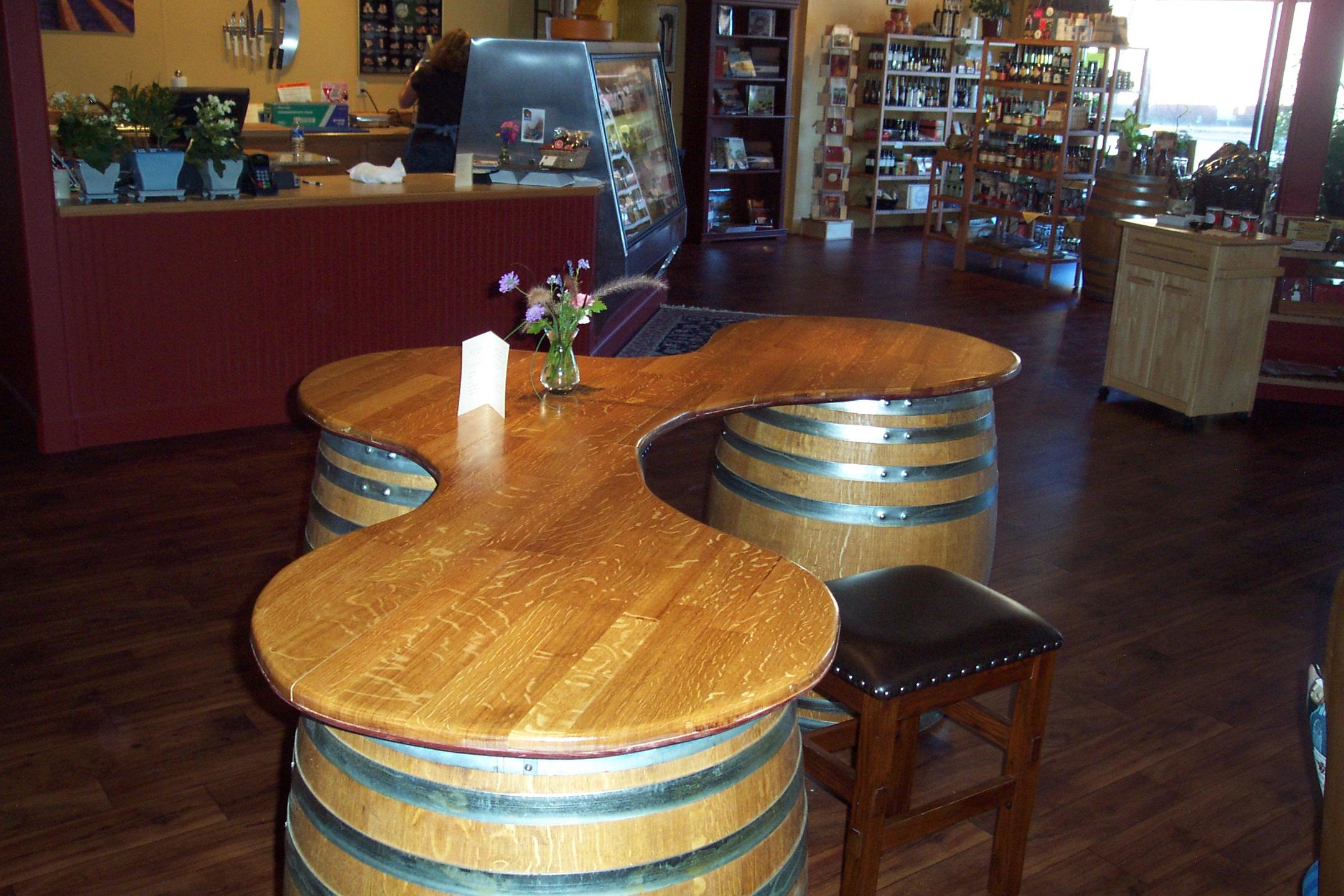 Custom Bars WINE WOOD RECYCLED